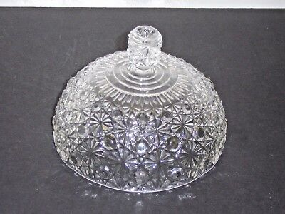 Adams & Company 1888 Daisy & Button Single Scallop  Butter Cheese LID ONLY