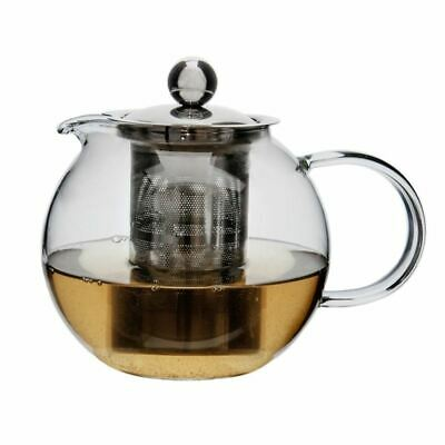 Zuhause - Globus Glass Tea Pot with Stainless Steel Infuser 800ml