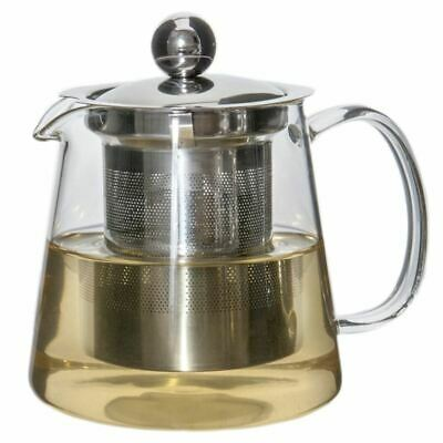 Zuhause - Markus Glass Tea Pot with Stainless Steel Infuser 480ml