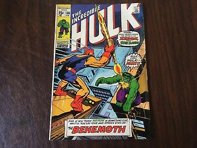 The Incredible Hulk #136 - NO RESERVE AUCTION!!!!  Bronze Age Marvel Comics 1971