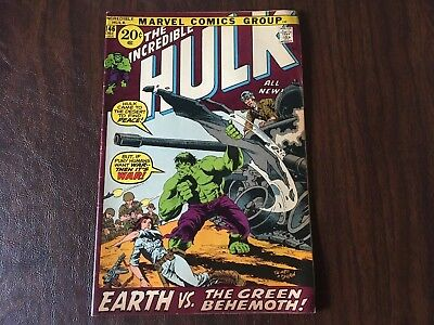 The Incredible Hulk #146 - NO RESERVE AUCTION!!!!  Bronze Age Marvel Comics 1971