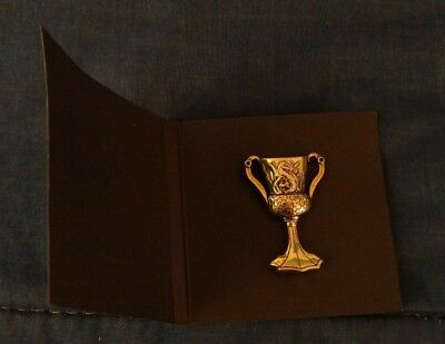 NEW Wizarding World Harry Potter Loot Crate Helga Hufflepuff's Cup Pin Horcrux