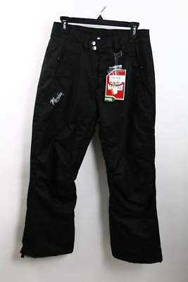 Marker Classic Straight Petite Black Woman's Outdoor Snow Pants Size 6