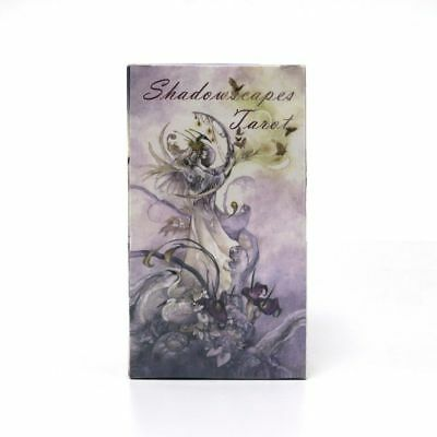 Full English Version Shadowscapes Tarot cards deck beautiful pictures party boar