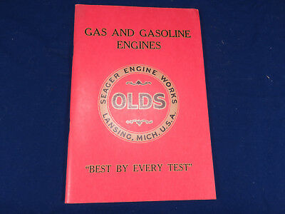 Seager Engine Works OLDS Lansing Michigan Gas Engine Catalog REPRINT Hit & Miss