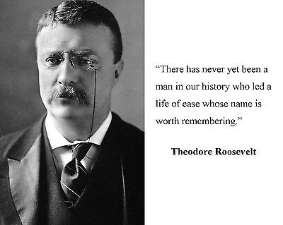 President Theodore Teddy Roosevelt  Quote 8 x 10 Photo Picture #h1