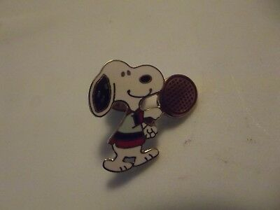 Snoopy Playing Tennis , Snoopy Sking  Tack Pins, Good Condition