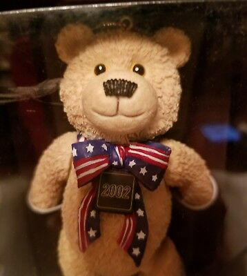 100th ANNIVERSARY TEDDY BEAR ORANAMENT