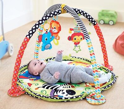 Lion Colourful Play Gym Activity Mat and Ball Pit by Babyhugs
