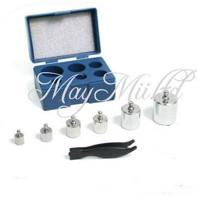 Best 50g 20g 10g 5g Grams Precision Chrome Calibration Scale Weight Set Kit  XW