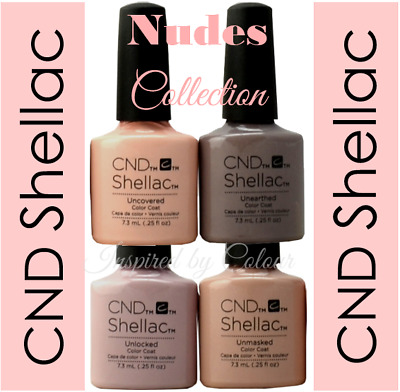 CND Shellac Power Polish Gel ~ Colours from the NUDES Collection ~ UV/LED