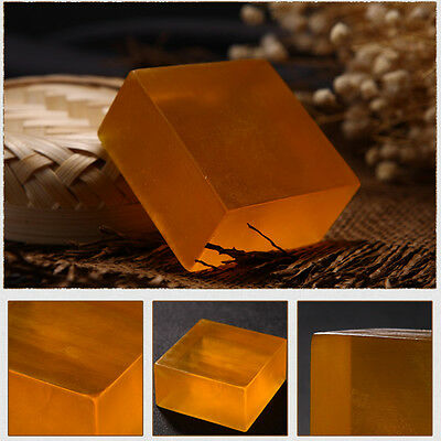 Natural Handmade Beauty Honey Essence Face Skin Cleaning Whitening Bath Soap 1x