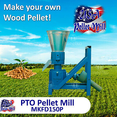 PTO Pellet Mill For Wood - MKFD150P