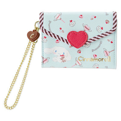 Cinnamoroll Card IC Card Holder Pass Case Love Letter Design Sanrio Japan