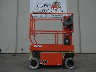BRAND NEW JLG 1230ES 12 Ft. Electric Vertical Mast Lift - FLAT RATE SHIPPING!!!!