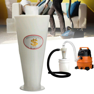 Efficiency Cyclone Powder Dust Separation Collector Filter For Vacuums Cleaner
