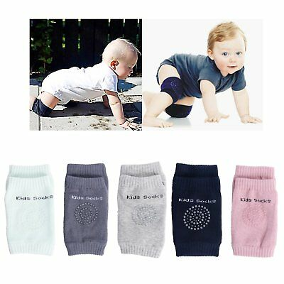Kids Crawling Elbow Cushion Infants Toddlers Baby Knee Pad Protector Socks AR1