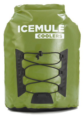 Cooler 23L Bag IceMule Pro Large Backpack Soft Green Leak Proof Travel Portable