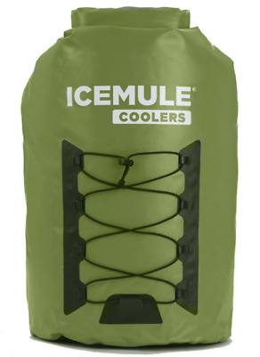 Cooler 33L Bag IceMule Pro Backpack Soft Green XL Leak Proof Portable Travel