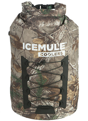 Cooler 33L Bag IceMule Pro XL Backpack Soft RealTree Camo Leak Portable Proof