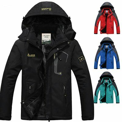 Men Women Windbreaker Jacket Couples Outdoor Mountaineering Hooded Coat F7