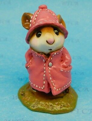 APRIL SHOWERS by Wee Forest Folk, WFF# M-180, PINK retired color