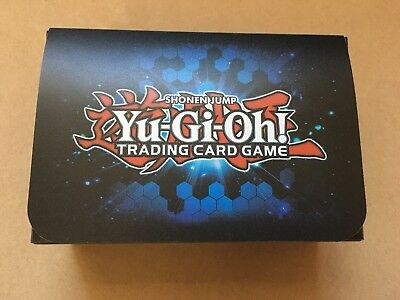 Yu-Gi-Oh! Official Blue Dual Double Deck Box from Konami