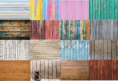 Vinyl Wood Board Plank Photography Background 5x3/7x5/9x6FT Photo Backdrop Props