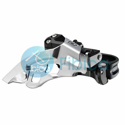 New Shimano Deore FD-M610 Triple Front Derailleur 10-speed 31.8/34.9 Clamp