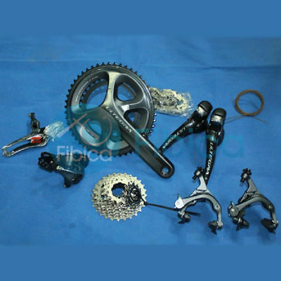 New Shimano Ultegra 6800 Road 11-speed Compact Groupset Group 50/34T 170mm
