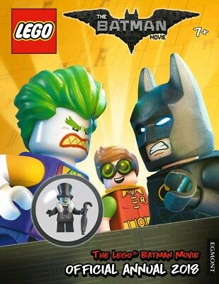 Lego Batman Movie Official Annual 2018 With Figure