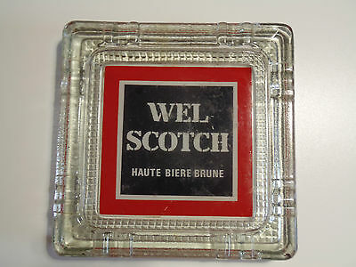 Ancien Cendrier Wel Scotch Haute Biere Brune