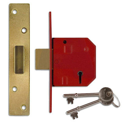 Locks Home Security UNION Chrome Faced 2197-3 Lever Butters System