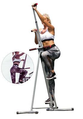 Maxi Climber Vertical Climber Home Adjustable Exercise Fitness AS SEEN ON TV