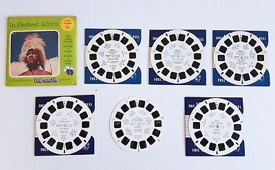 Sawyers Viewmaster 6 AFRICAN REELS inc East African Safari - 1950's / 60's