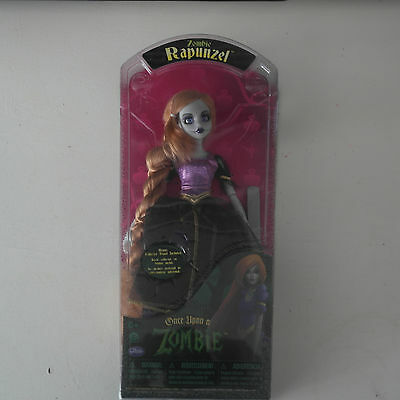 Once Upon a Zombie Rapunzel Doll BY WowWee with Collectors Stand NEW