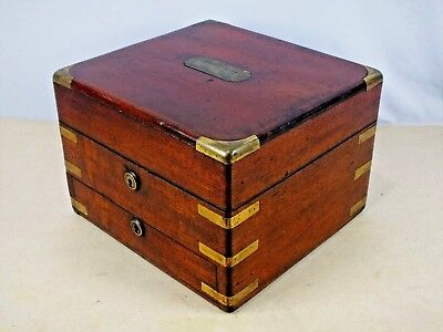 1800s Antique Doctor's Apothecary Medicine Case with Bottles, Jars, and Measures