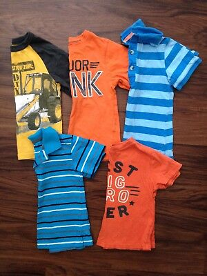 Lot of 5 Boys 3T Short Sleeve Shirts