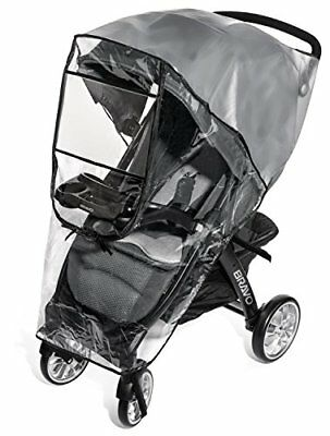 Premium Stroller Cover Weather Shield, Easy In/Out Zipper, Universal Size,
