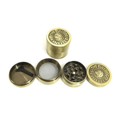 1X Tobacco Herb Spice Grinder 4 Layers Herbal Alloy Smoke Metal Chromium Crusher