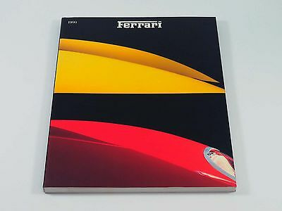 Official Ferrari Yearbook Annual Book Brochure 1990