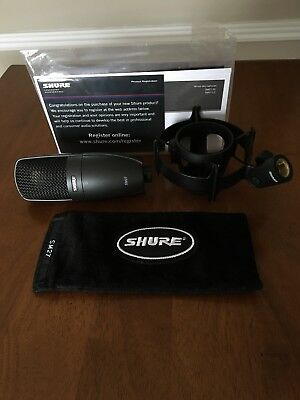 Shure SM27 Condenser Professional Microphone
