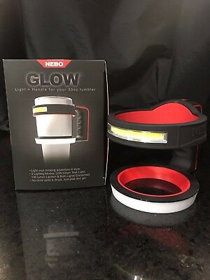 "NEW! NEBO ""GLOW"" LIGHT+ HANDLE FOR YOUR 32OZ TUMBLER (32oz TUMBLER NOT INCLUDED)"