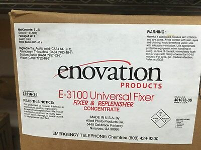 Enovation Products E-3100 Universal Fixer Fixer & Replenisher Concentrate
