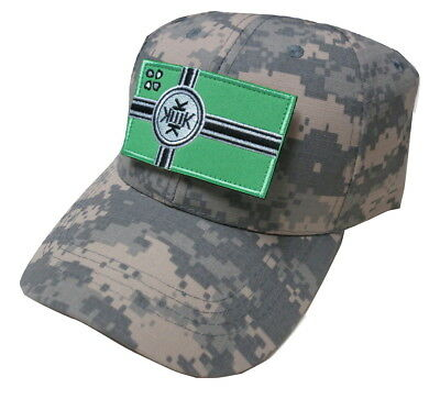Kek Flag Kekistan Embroidered Patch Tactical Baseball Hat Cap Digital Camo