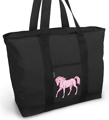 Cute Horse LOVER Pink Horse Tote Bag BEST HORSES GIFTs Well Made Unique Gift!