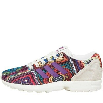 buy online 656c7 827e4 Adidas ZX Flux W Multicolor Donna Scarpe Shoes Sportive Sneakers uk 5 rrp  £74.99
