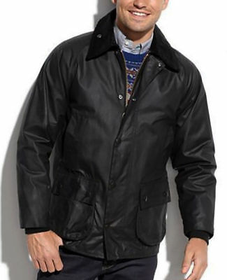 NWT $379 BARBOUR BEDALE Wax Cotton Jacket Waterproof Tartan Lined Coat 38 Small