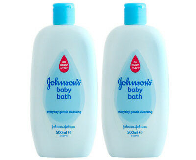 2 x Johnson's Mild Baby Bath 500mL