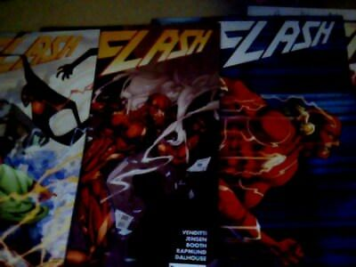 THE FLASH  NEW 52 # 44, 46, 51, 52 (x 2 with variant) Annual # 4